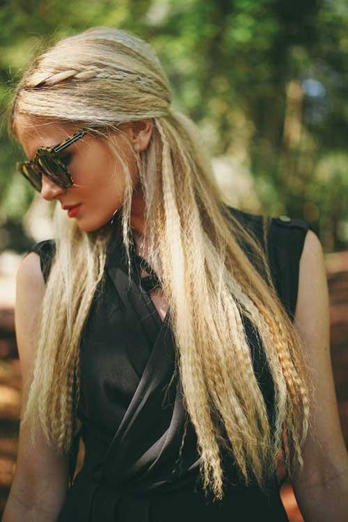 35 Long Hair Braids Styles Hairstyles Amp Haircuts 2016 2017