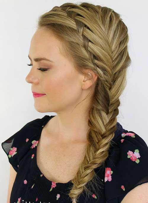 15 Fishtail Braids Hairstyles Hairstyles Amp Haircuts 2016