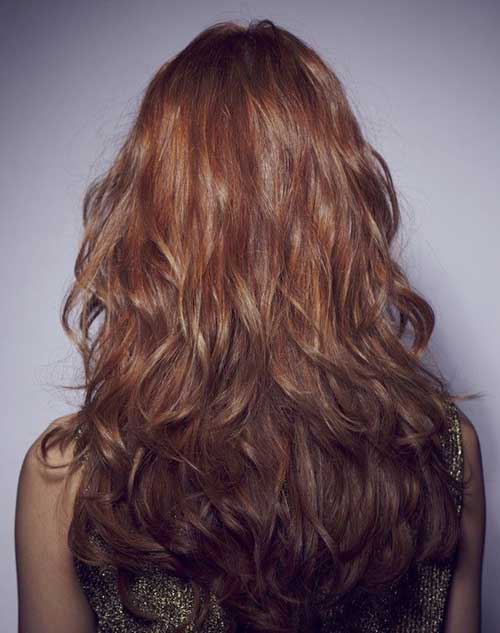 10 Long Layered Hair Back View Hairstyles And Haircuts