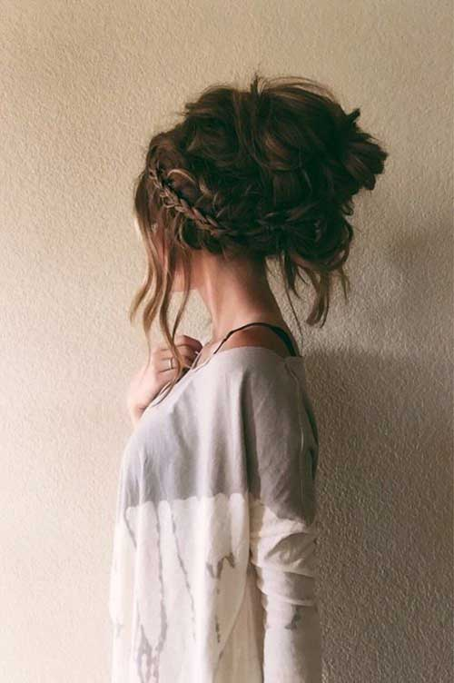 Pretty Big Bun Hairstyles For Ladies Hairstyles