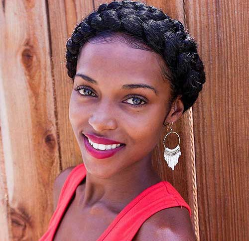 25 Afro Hairstyles With Braids Hairstyles Amp Haircuts