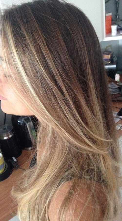 20 Long Dark Blonde Hair Hairstyles Amp Haircuts 2016 2017