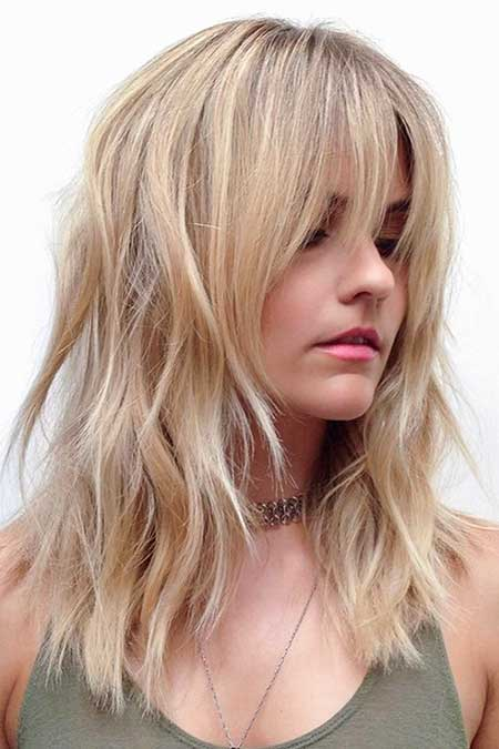 34 Inspiring Blonde Mid Length Hairstyles Hairstyles