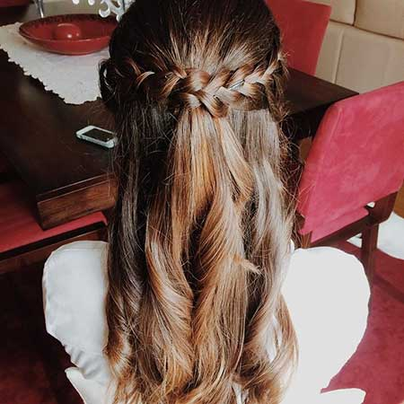30 Gorgeous Braided Half Up Half Down Hairstyles
