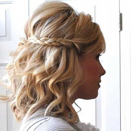 30 Gorgeous Braided Half Up Half Down Hairstyles