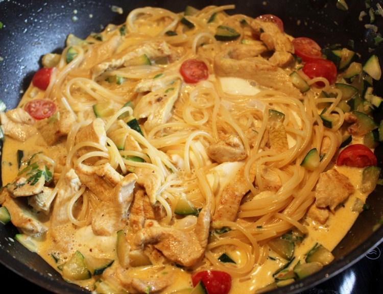 Mozzarella Spaghetti ala Mucki