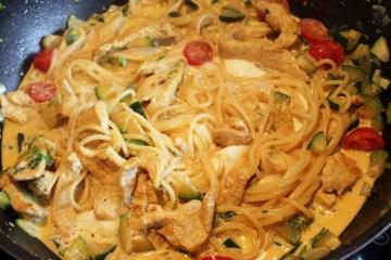 Mozarellaspagetti