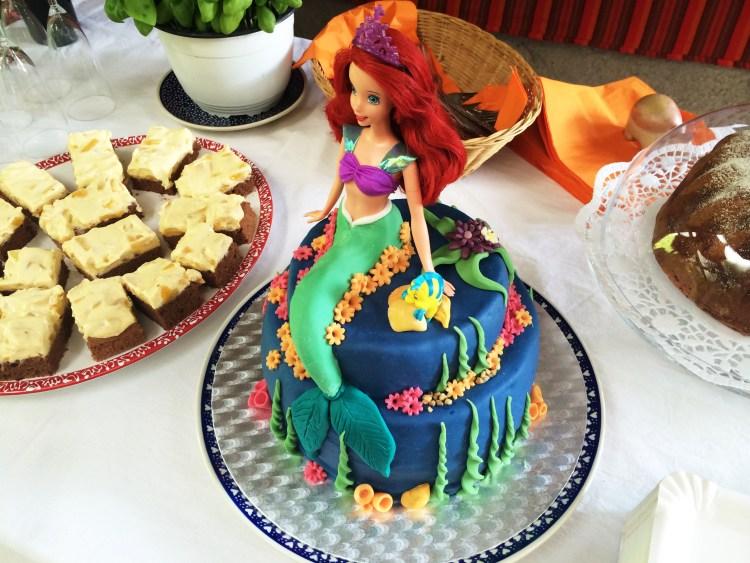 Ariel die Meerjungfrau – Torte für Hanna