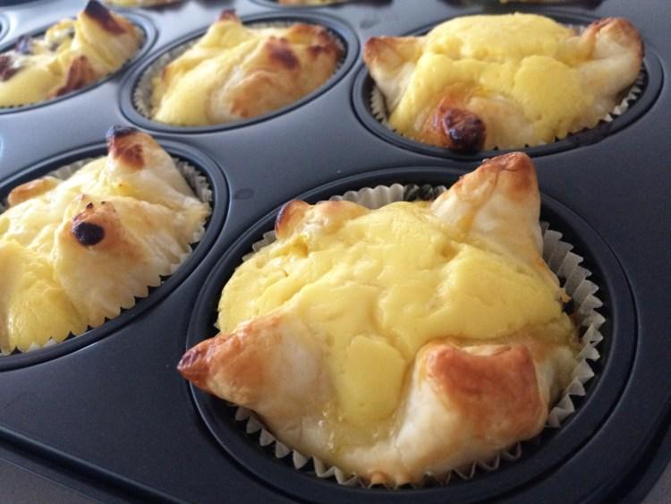 Topfengolatschen Muffins