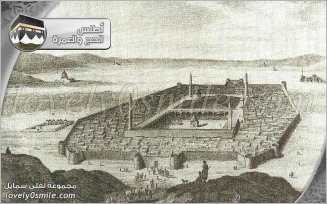عمارة المسجد النبوي الشريف عبر