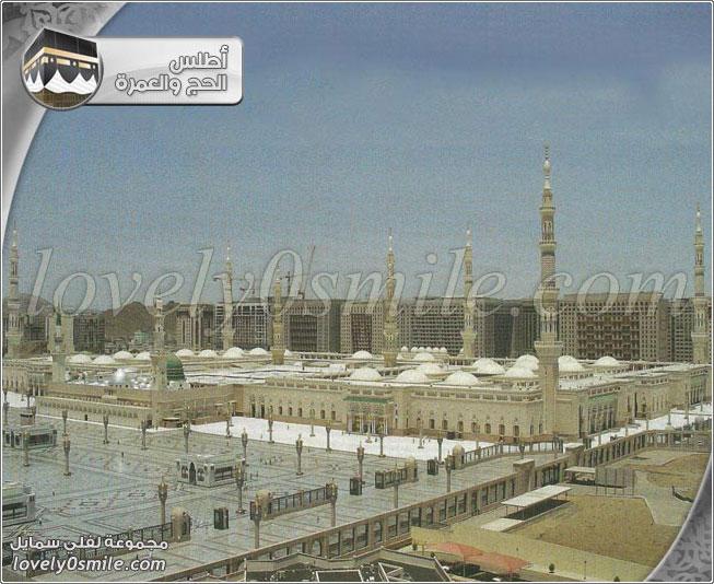 مآذن المسجد النبوي - من معالم