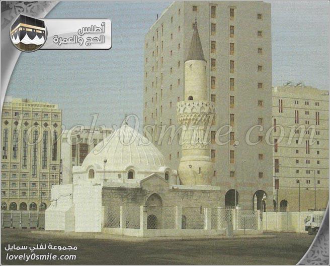 مسجد الراية + مسجد الغمامة + م