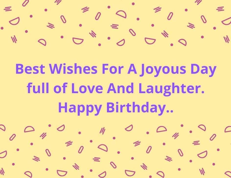 Birthday Greetings Image