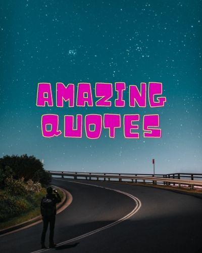 Amazing Quotes Pic