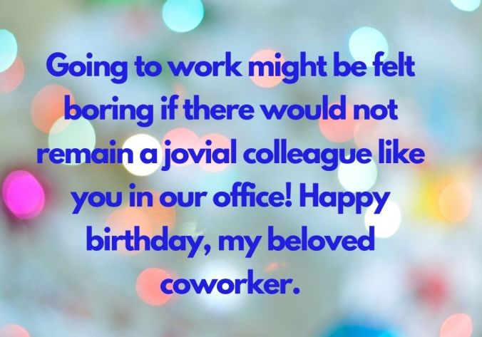 Birthday Wishes For Colleague HD free image download