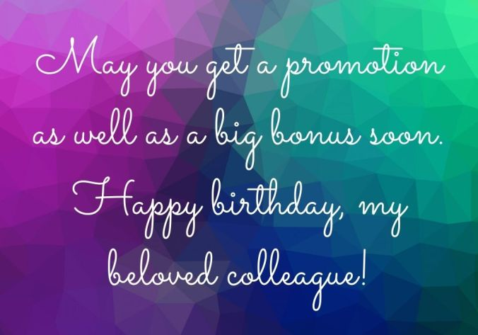 Birthday Wishes For Colleague HD free image