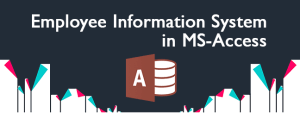 Employee Record Management Information System ms access