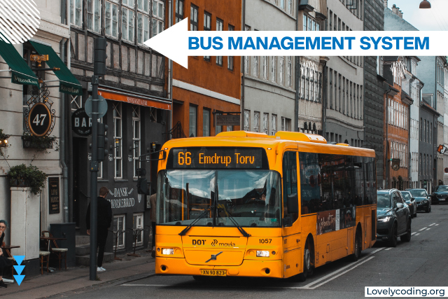 Bus Management System Project