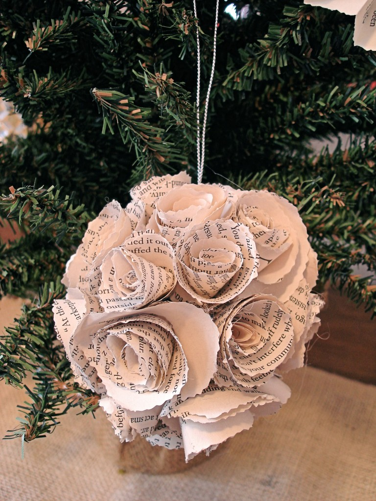 Image result for bookish christmas decorations