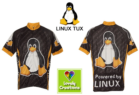 Linux Tux Cycling Jersey