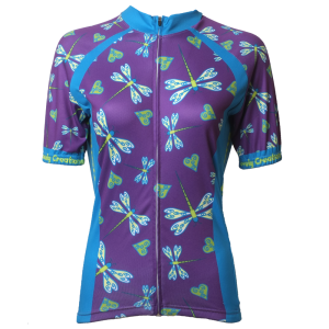 Dragonflies Short Sleeve Jersey Front.fw