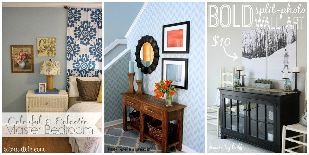 Be bold challenge link party cassie bustamante for Split master bedroom