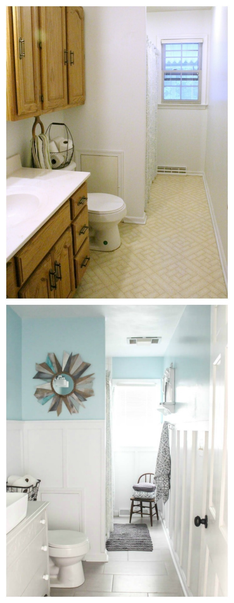 Modern Farmhouse Bathroom: The True Final Budget and ... on Modern Farmhouse Shower  id=63902