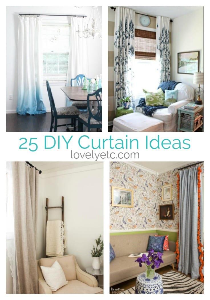 25 amazing diy curtains anyone can make