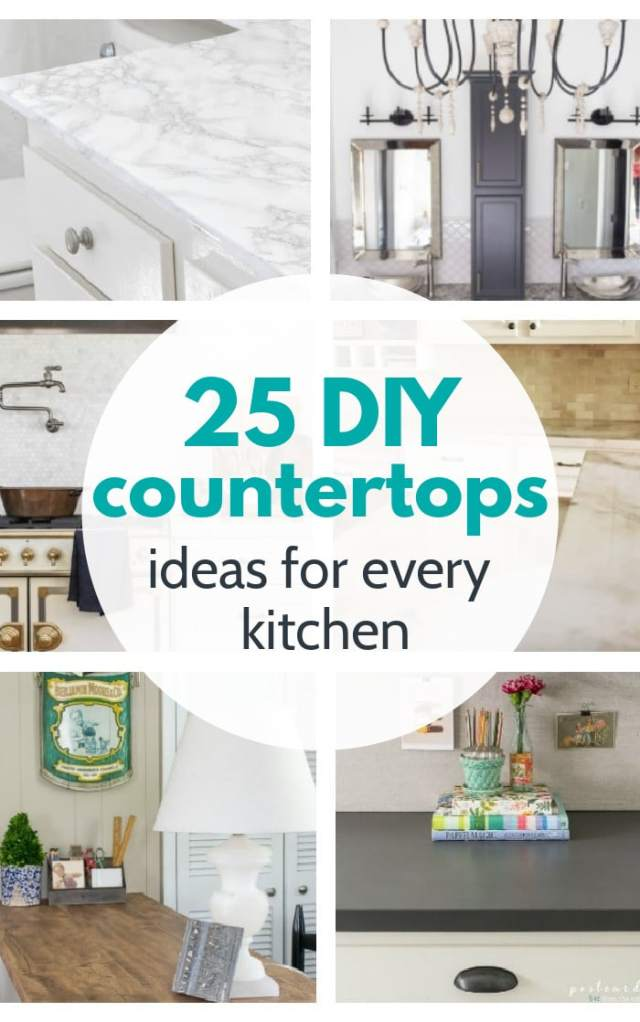 diy countertops ideas for every kitchen