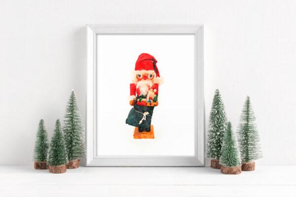 Free Christmas Printables: Nutcrackers and Santas