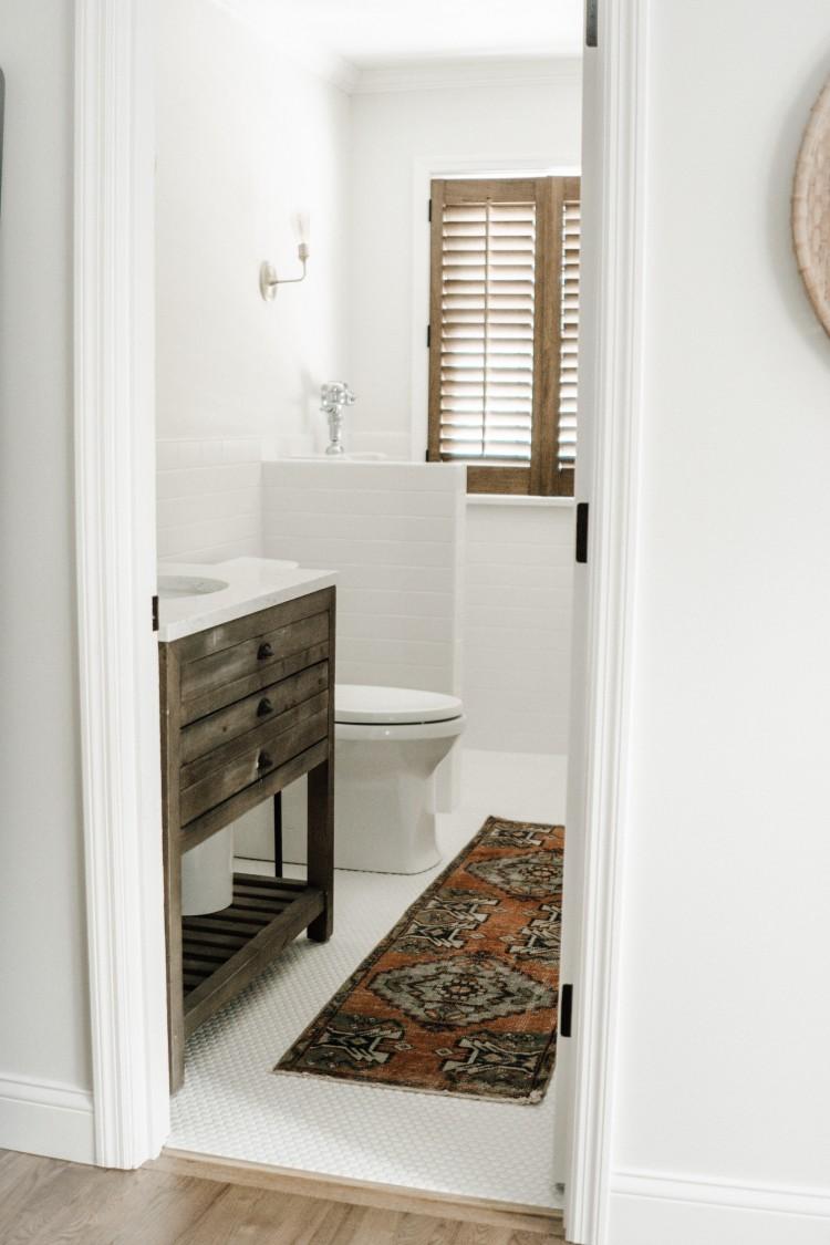 white half bath reveal stuff you