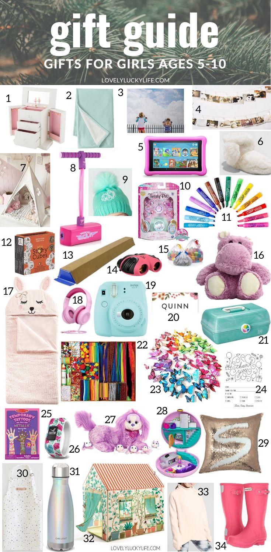 The 55 Best Christmas Gift Ideas Stocking Stuffers For Girls Lovely Lucky Life