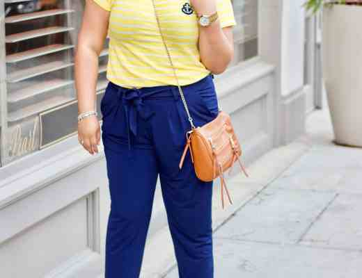 navy and yellow, navy and yellow outfit, spring outfit, what to wear in the spring season, spring looks 2017