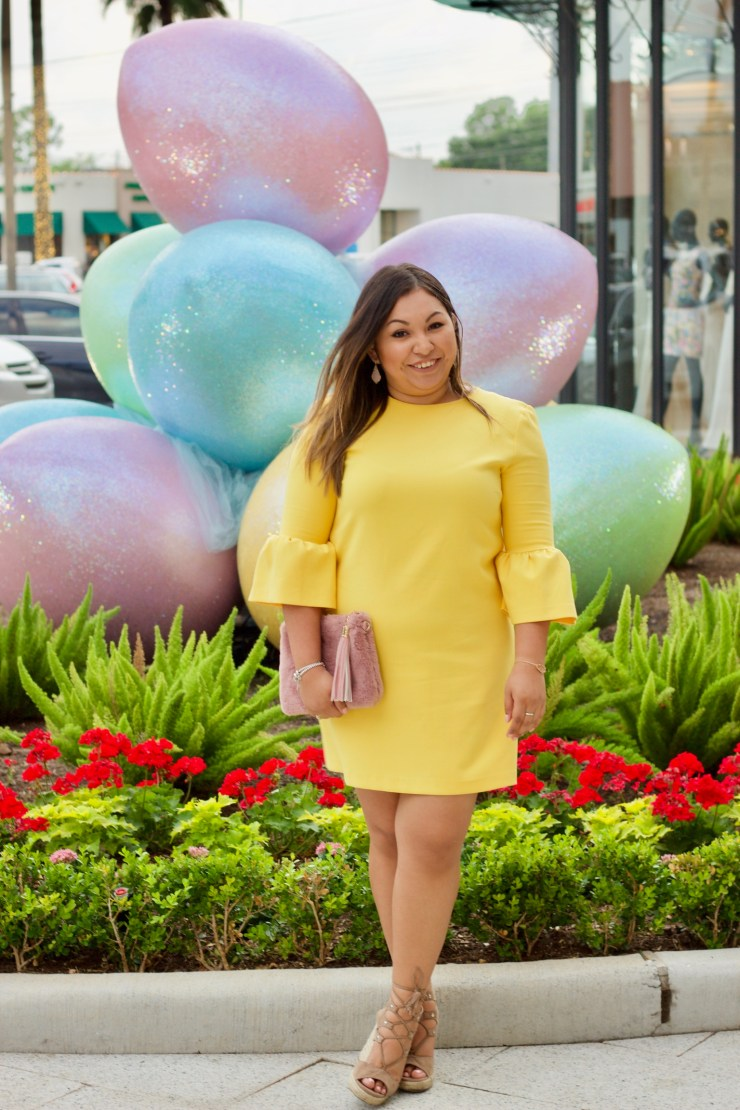 yellow dress for spring, spring outfit, spring outfit inspiration