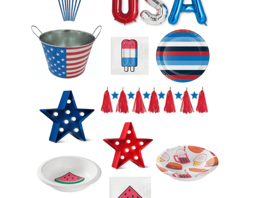 4th of july, fourth of july, 4th of july decorations, decorations for fourth of july, decorations for 4th of july, cute decorations for the 4th, red white and blue decorations, summer decorations