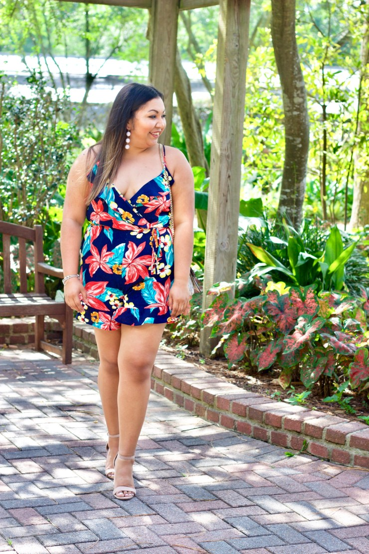 floral romper, floral outfits, easy summer outfits, cute summer outfits, rompers for summer, how to style rompers