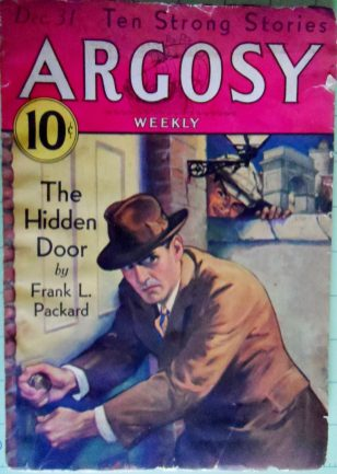Pulp writer Packard also published in hardback.