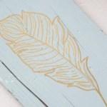 Golden feather {www.lovelyweeds.com}