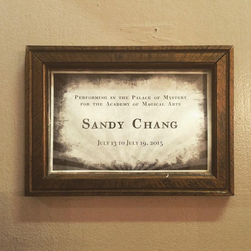 魔術師專訪-Sandy-張庭瑋
