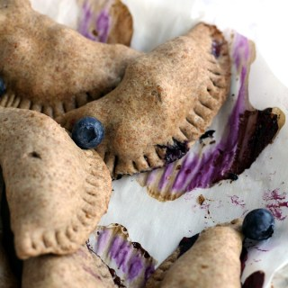 Vanilla Bean Blueberry Peach Hand Pies