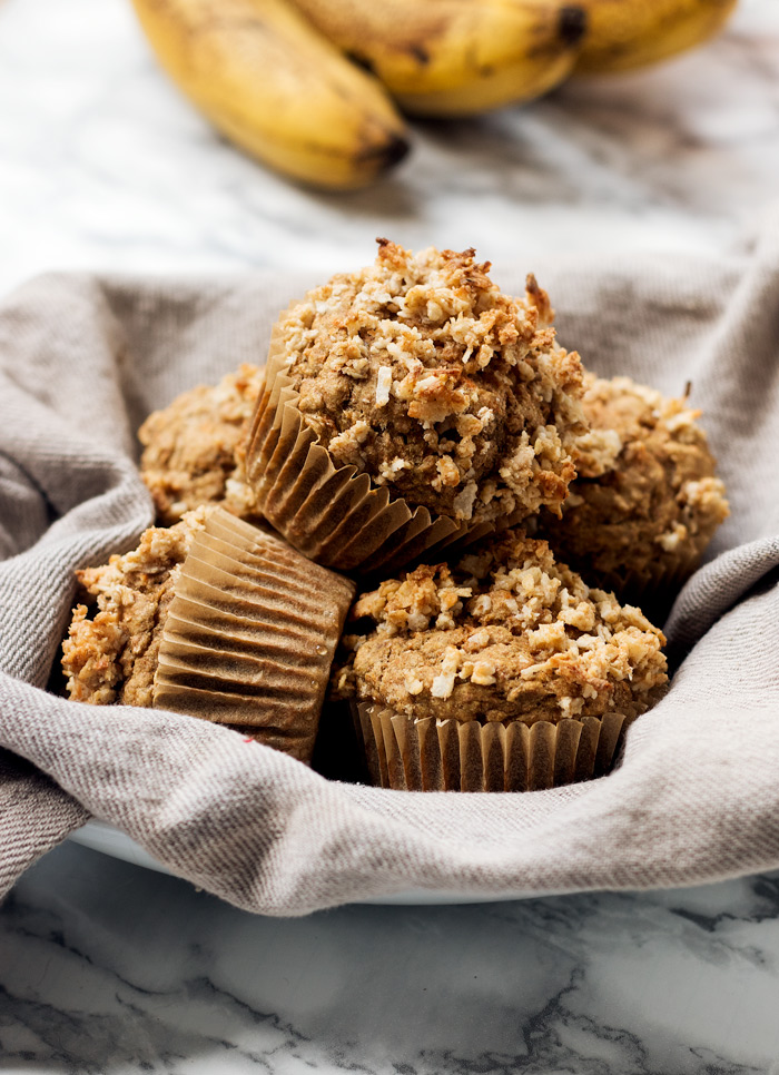 vegan banana carrot muffins | love me, feed me