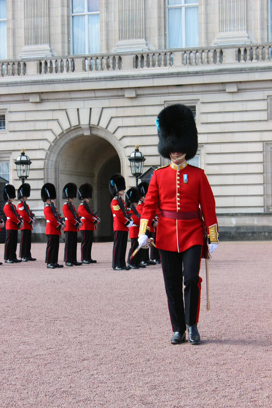 A Wheelchair User's Guide to the Changing of the Guard