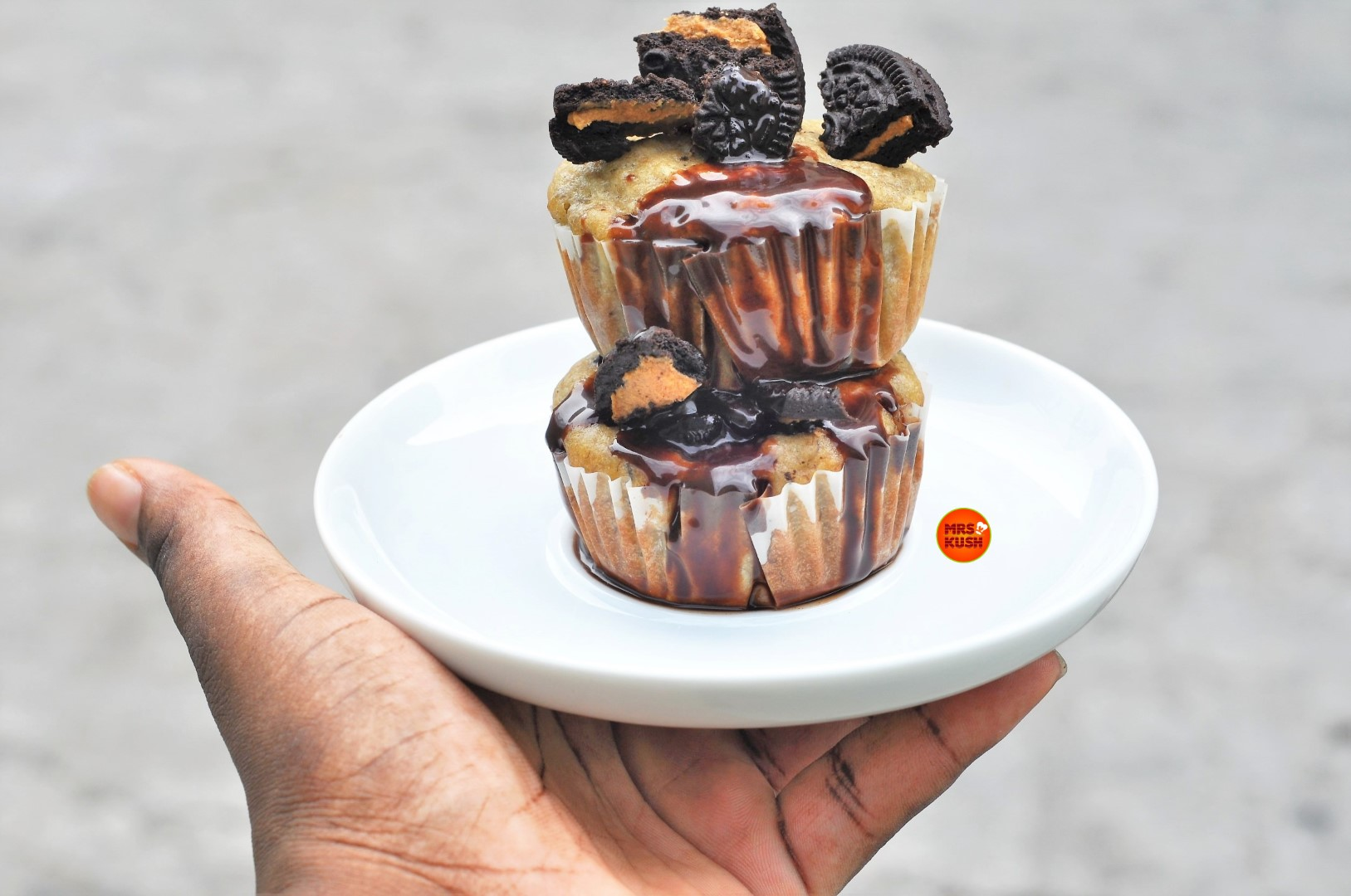 Quick And Easy Banana Oreo Muffins