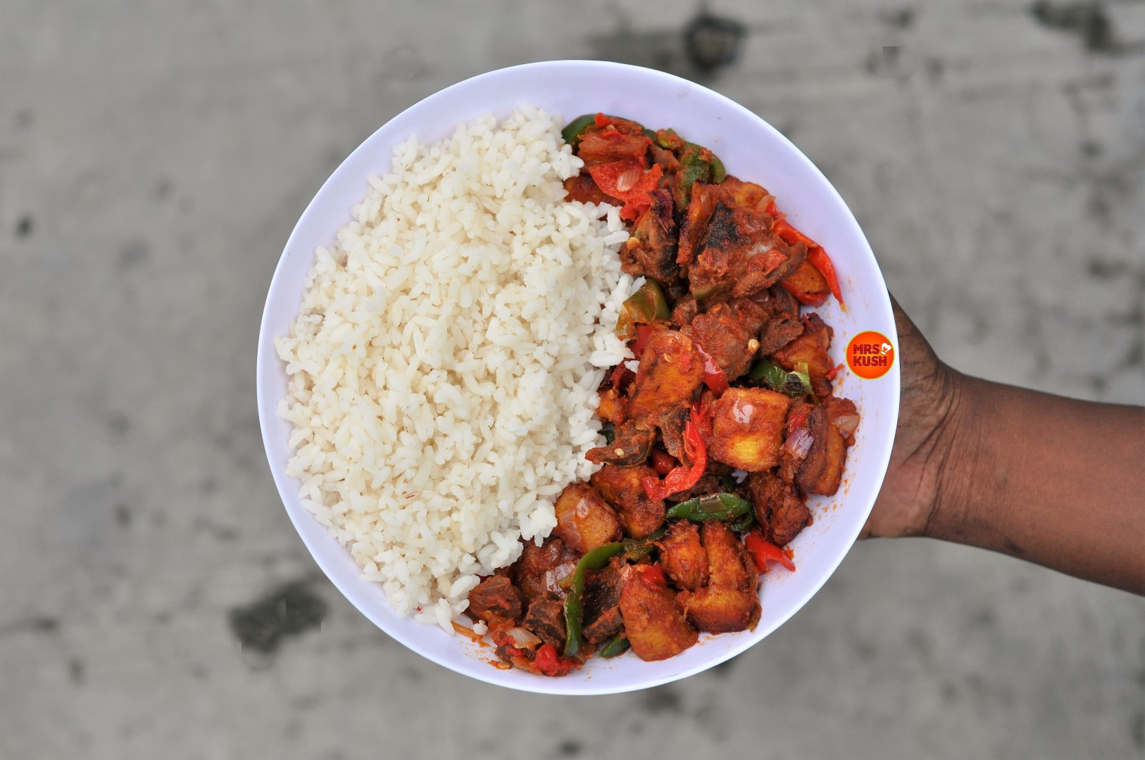 Gizdodo Recipe: Plantain & Gizzard Side Dish