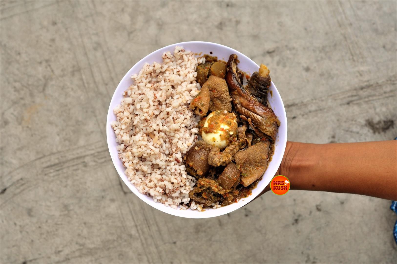 Ayamashe: The Perfect Accompaniment  To Ofada Rice