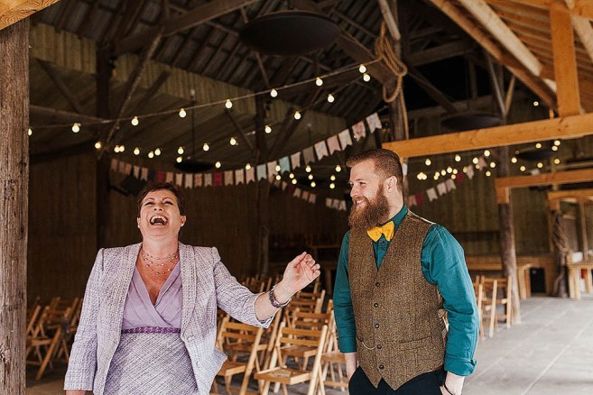 A Boho Bride And Her Quirky, Rustic Barn Wedding