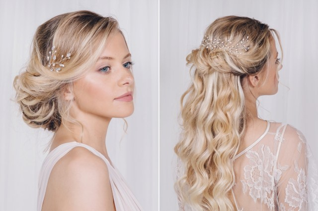 debbie carlisle - different hair accessory styles for