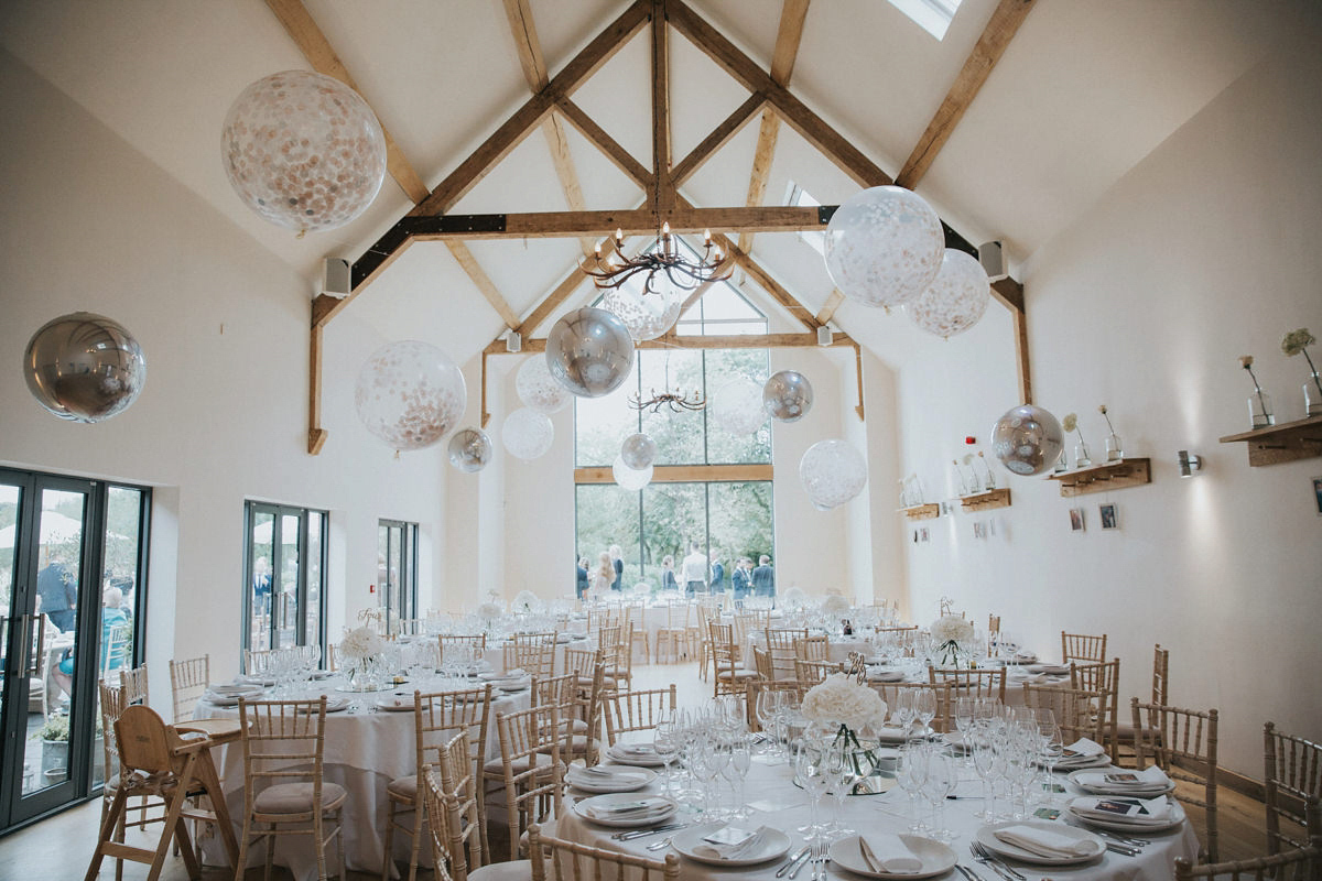 Neutral Elegant Outdoor Wedding: An Elegant Watters Gown For A Pared Back And Neutral