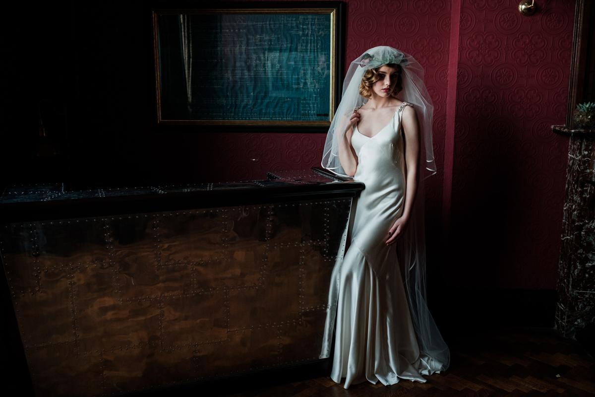 Art Deco Wedding Gowns: Art Deco Era Elegance Inspired By The Titanic