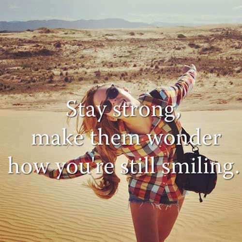 stay strong make them wonder good morning quotes